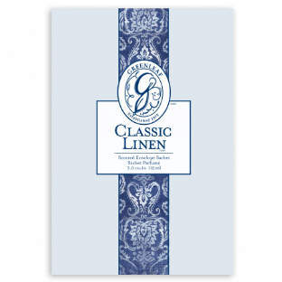 Greenleaf -Classic Linen - Large Scented Sachet